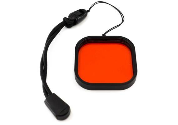 10bar Rotfilter für GoPro Hero 8
