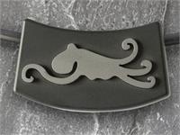 "Amulett ""Octopus"" Bogen, inkl. Silikon Collier"