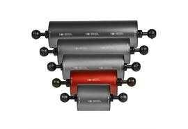 """Isotta 1"""" Kugel Auftriebsarm 120mm Länge, 70mm Durchmesser (+330g Auftrieb)"""