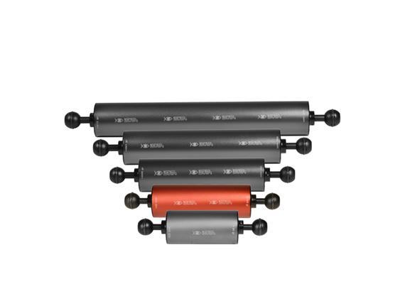 """Isotta 1"""" Kugel Auftriebsarm 140mm Länge, 50mm Durchmesser (+140g Auftrieb)"""