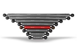 """Isotta 1"""" Kugel Auftriebsarm 180mm Länge, 25mm Durchmesser (+11g Auftrieb)"""