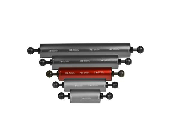 """Isotta 1"""" Kugel Auftriebsarm 180mm Länge, 50mm Durchmesser (+225g Auftrieb)"""