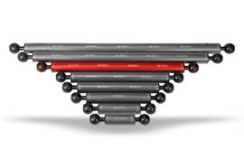 """Isotta 1"""" Kugel Auftriebsarm 220mm Länge, 25mm Durchmesser (+30g Auftrieb)"""