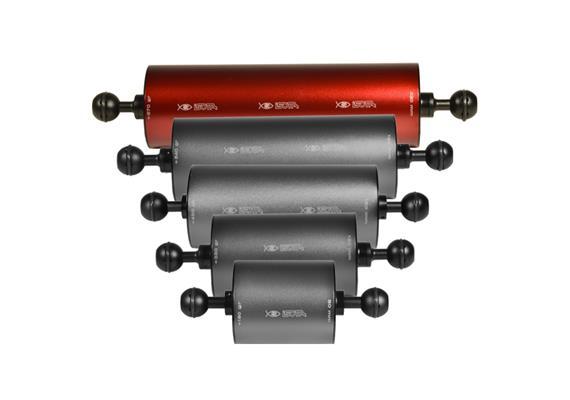 """Isotta 1"""" Kugel Auftriebsarm 220mm Länge, 70mm Durchmesser (+670g Auftrieb)"""