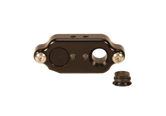 Isotta Doppel-Anschluss für fiberoptische Kabel (für diverse Isotta Kompaktgehäuse)