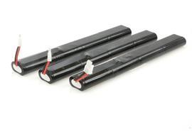 Keldan Battery Kit 3x97Wh 14.8V for Video 24X
