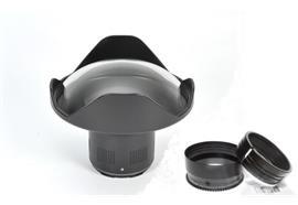MIETE: Nauticam 7'' Acryl Dome Port+Zoomring für Olympus 12-40mm