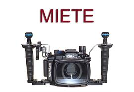 MIETE: Nauticam UW-Gehäuse NA-RX100VI Pro (für Sony RX100 Mark VI)