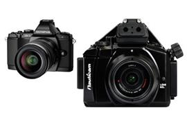 MIETE: SET Olympus OM-D Kamera E-M5 + Nauticam UW-Gehäuse NA-EM5