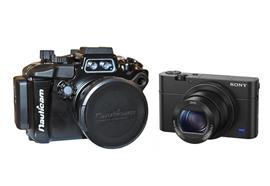 MIETE: SET Sony Kamera RX100 M4 + Nauticam UW-Gehäuse NA-RX100 IV