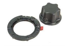 Nauticam Vorsatzlinsen-Adapter von M67 auf Bajonett