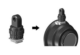 Nauticam YS-Adapter für den Cold Shoe ( Hot-Shoe)