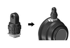 Nauticam YS-Adapter für den Cold Shoe ( Hot-Shoe)