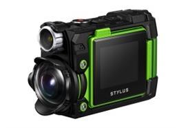 Olympus Action-/Digitalkamera Tough TG-Tracker (grün)