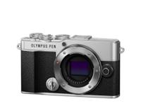 Olympus Digitalkamera PEN E-P7, Body (Silber)