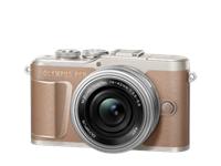 Olympus Digitalkamera PEN E-PL10, Body (Braun)