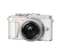 Olympus Digitalkamera PEN E-PL10, Body (Weiss)