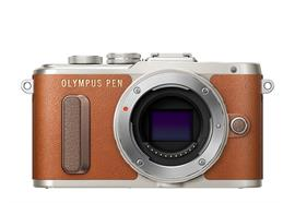 Olympus Digitalkamera PEN E-PL8, Body (Braun)