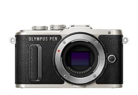 Olympus Digitalkamera PEN E-PL8, Body (Schwarz)