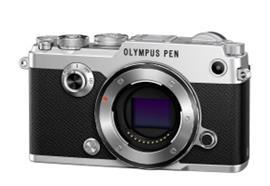 Olympus Digitalkamera PEN-F, Body (Silber)