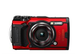 Olympus Digitalkamera Tough TG-6 (rot)