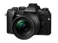 Olympus E-M5 Mark III 12-45 Kit schwarz/schwarz