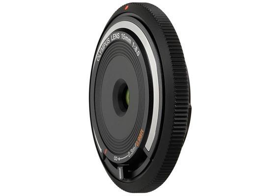 Olympus Objektiv M.Zuiko Body Cap Lens 15mm 1:8.0