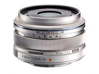Olympus Objektiv M.Zuiko Digital 17mm 1:1.8 (silber)