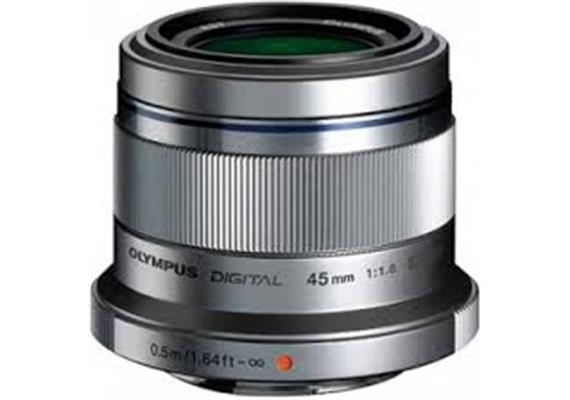 Olympus Objektiv M.Zuiko Digital 45mm 1:1.8 (silber)