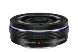 Olympus Objektiv M.Zuiko Digital ED 14-42mm EZ Pancake, schwarz