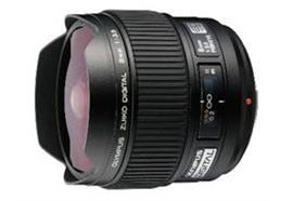 Olympus Objektiv Zuiko Digital ED 8mm Fisheye f3,5, schwarz
