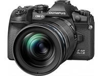 Olympus OM-D E-M1 Mark III 12-100mm Kit (schwarz/schwarz)