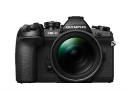 Olympus OM-D Kamera E-M1 Mark II Kit 12-40mm PRO +40-150mm PRO (schwarz/schwarz/schwarz)