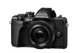 Olympus OM-D Kamera E-M10 III Pancake Zoom Kit 14-42mm + 40-150mm 4.0-5.6R (schw/schw/schw