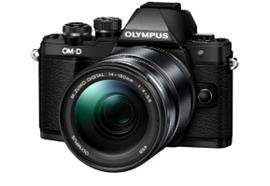 Olympus OM-D Kamera E-M10II Kit 14-150 EZ II (schwarz/schwarz)