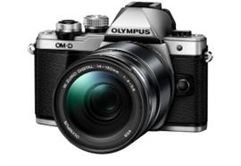 Olympus OM-D Kamera E-M10II Kit 14-150 EZ II (silber/schwarz)