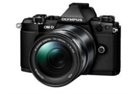 Olympus OM-D Kamera E-M5II Kit 14-150 EZ II (schwarz/schwarz)