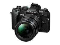 Olympus OM-D Kamera E-M5III 12-40mm Kit (schwarz/schwarz)