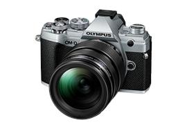 Olympus OM-D Kamera E-M5III 12-40mm Kit (silber/schwarz)
