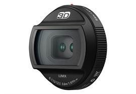 Panasonic 3D-Objektiv LUMIX G-Micro 12,5mm f12