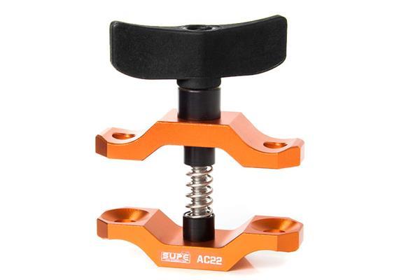 Scubalamp SUPE Tri-compression Klammer Aluminium (Flügel ABS Kunststoff) - gold