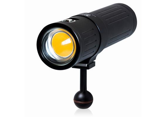 Scubalamp SUPE V6K PRO Unterwasser Videolicht - schwarz