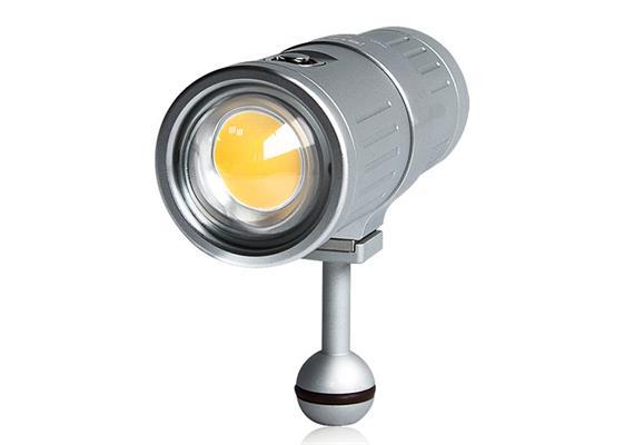 Scubalamp SUPE V6K Unterwasser Videolicht - silber
