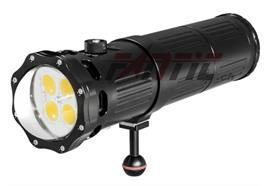 Scubalamp SUPE V9K Unterwasser Videolicht (schwarz)