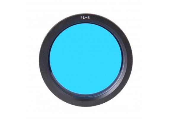 X-Adventurer FL-4 6B (6m) Blauwasser Tageslicht-Filter für M6000-WRBT