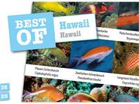 Dive-Sticker (8 Bogen mit total 96 Selbstklebe-Bildern inkl. ID in deutsch/lateinisch) - Hawaii
