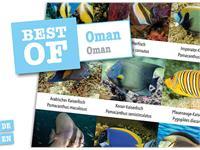 Dive-Sticker (8 Bogen mit total 96 Selbstklebe-Bildern inkl. ID in deutsch/lateinisch) - Oman