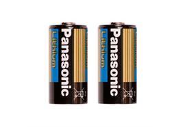 Ikelite 2-pack CR123 lithium batteries (for Ikelite Gamma flashlight)