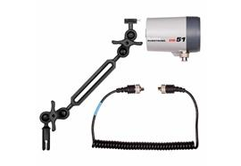 Ikelite DS51 TTL Strobe package (with ball-joint arm)
