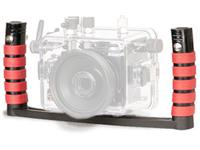 Ikelite Dual handle and tray assembly for Compact Camera Housing